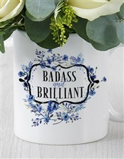 Bad ass and Intelligent Daisy Mug