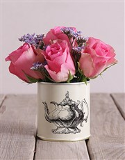 Roses in Classic Tins