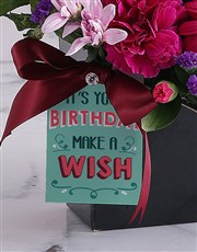 Bright Blooms in Birthday Envelope Box