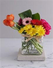 Summer Delight Tulip Arrangement