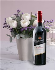 Stunning White Tulip Delights