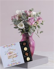 Pink Delight Tulip Arrangements
