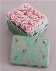 Dusty Pink Rose Arrangement