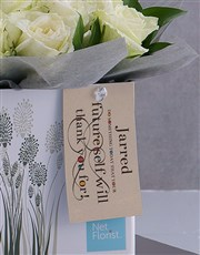 Personalised Thank You Arrangement In A Box