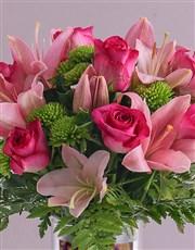 Personalised Best Mom Roses Photo Vase