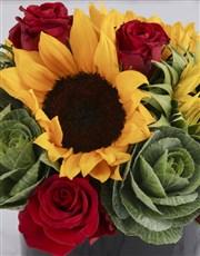 Le Petit Fleur Sunflower Arrangement