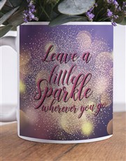 Leave A Sparkle Flower Mug