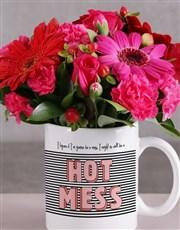 Hot Mess Flower Mug