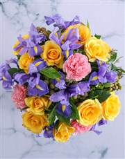 Vase of Bright and Blissful Blooms