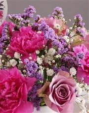Pastel Floral Mug