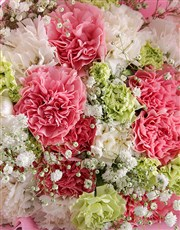 Pretty Pink Carnation Birthday Bouquet