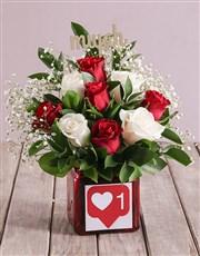 Love Splendor Rose Blossoms