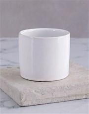 Love you Spray in White Vase