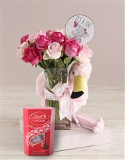 Baby Girl Welcome Arrangement