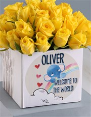 Welcome Sunshine Roses In Occasions Box Gift