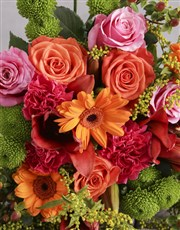 Mixed Colour Floral Delights