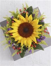Personalised Sunshine Sunflower Tin