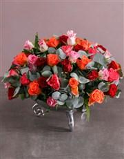 Flourishing Rose Arrangement