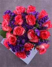 Have A Cerise Day Roses In Vase