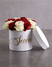 Personalised Sweet Mixed Flowers Hat Box