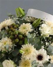 Hat Box Of Mixed Flowers