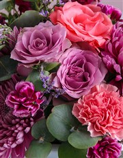 Little Spoils Mixed Flowers Hat Box