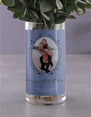 Divine Roses in Photo Vase
