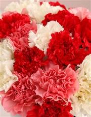 Cone Heart Carnation Vase