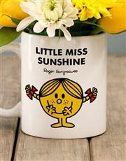 Little Miss Sunshine Flowers In Mug