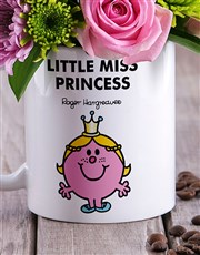 Little Miss Princess Flowers In Mug