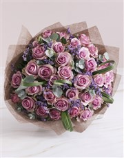 Lovely Lilac Rose Bouquet