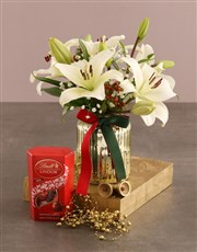 Lilies and Lindt Surprise