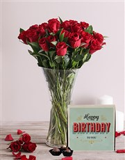 Red Roses and Birthday Chocolates