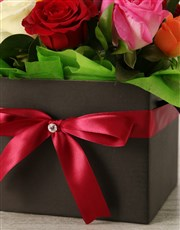 Bright Birthday Mixed Rose Box