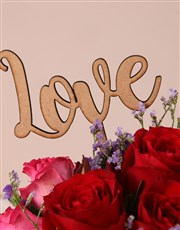 Personalised Love You to Pieces Blooms