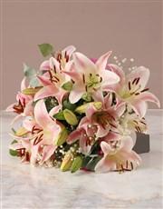 Stunning Stargazer Lily Bouquet