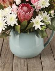 Prim and Proper Mixed Protea Bouquet