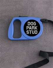 Personalised Bold Retractable Dog Lead