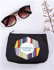 Personalised Beautifully Blessed Cosmetic Bag