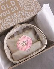 Personalised Vanity Set Gift
