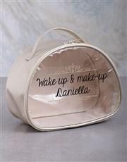 Personalised Makeup Vanity Set Hamper