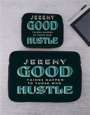 Personalised Hustle Tech Device Sleeve