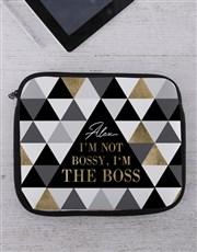 Personalised Boss Tech Device Sleeve