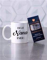 Personalised Best Nana Ever Mug