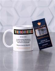 Personalised Teacher Definition Mug