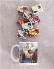 Personalised Three Photo Memory Mug