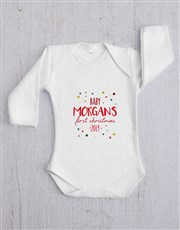 Personalised First Christmas Gift Set