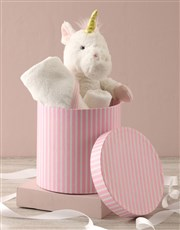 Personalised Unicorn Baby Gift Hamper