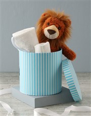 Personalised Lion Baby Gift Hamper