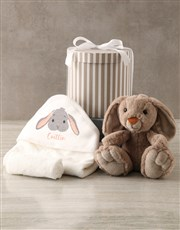 Personalised Bunny Baby Gift Hamper